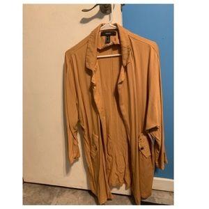 Thin pea coat